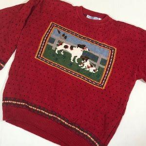 Northern Isles novelty dog sweater